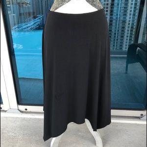 Donna Ricco NY | Spandex Skirt | Black | Size: 16